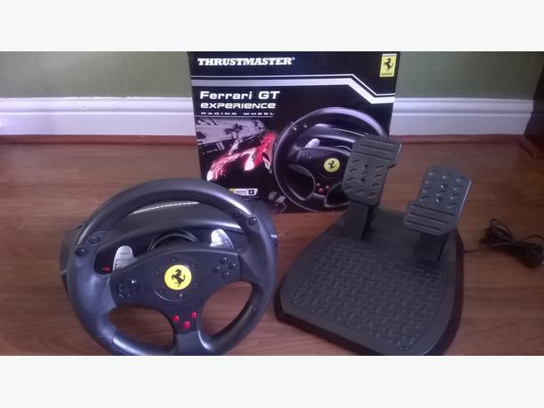 thrustmaster ferrari gt experience racing wheel brierley. Black Bedroom Furniture Sets. Home Design Ideas