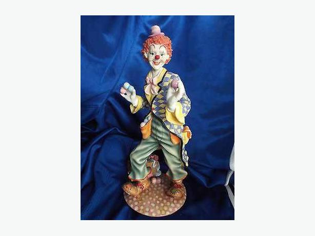 Large clown figurine