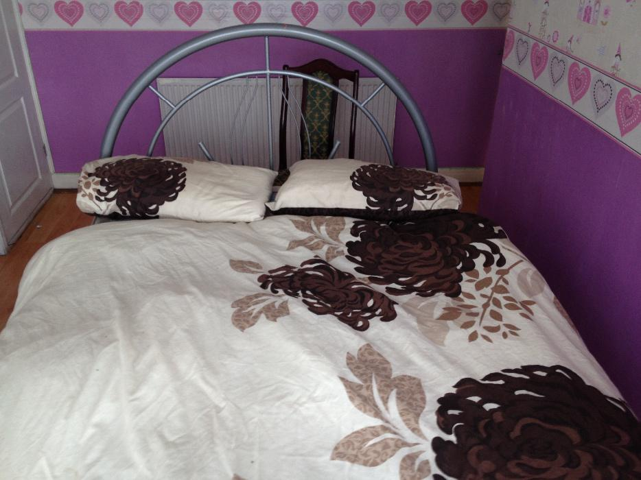 double bed frame and mattress for sale tipton dudley