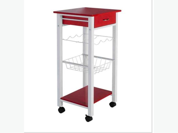 glossy top kitchen trolley outside black country region