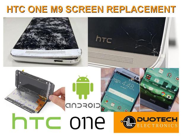 HTC One M9 Screen Replacement