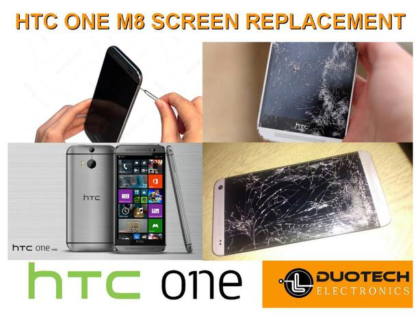 HTC One M8 Screen Replacement Service