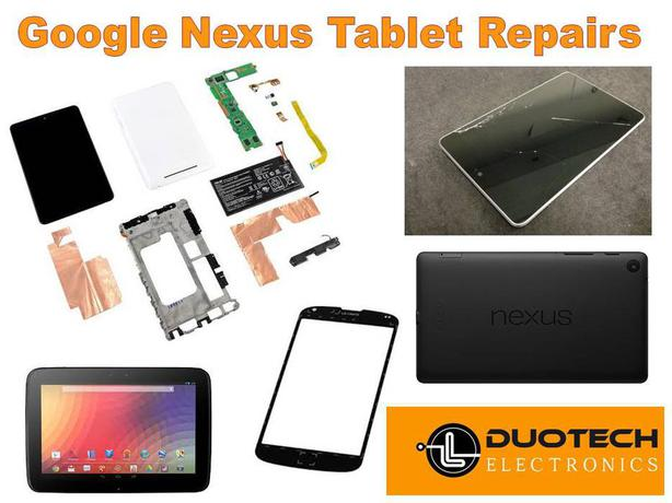 Google Nexus Tablet Screen Replacement