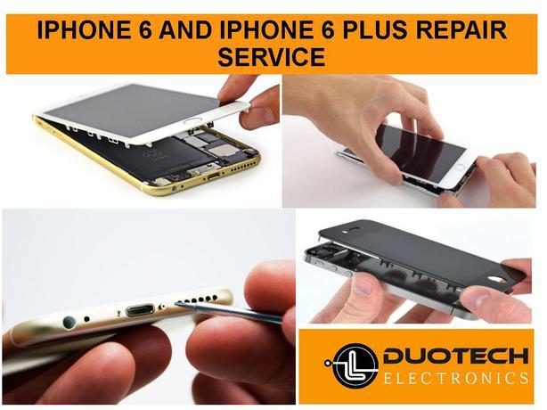 Apple iPhone 6 and 6 Plus Repair Service