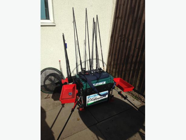Fishing tackle for sale brierley hill wolverhampton for Fishing equipment for sale