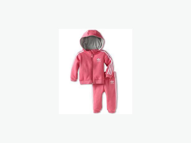 pink original adidas tracksuit