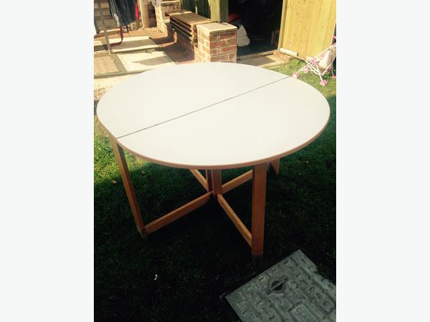 Fold Away Table Outside Black Country Region Wolverhampton