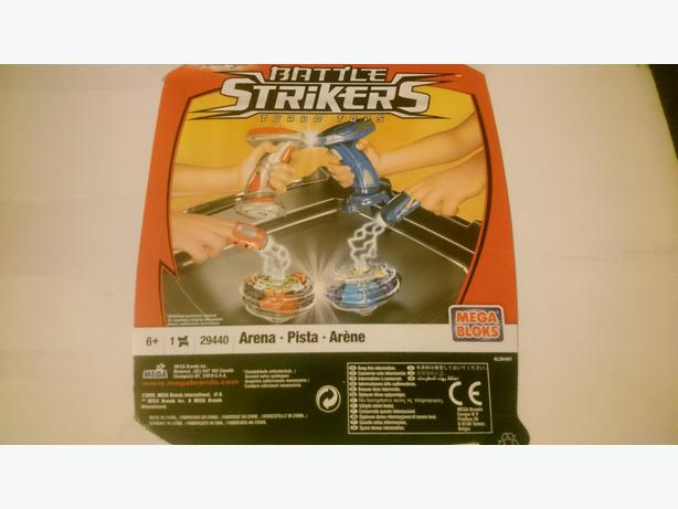 boxed battle strikers 6years +