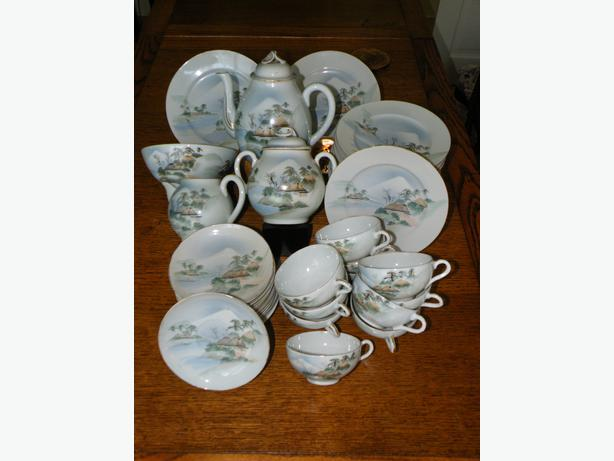 CHINESE BONE CHINA SET