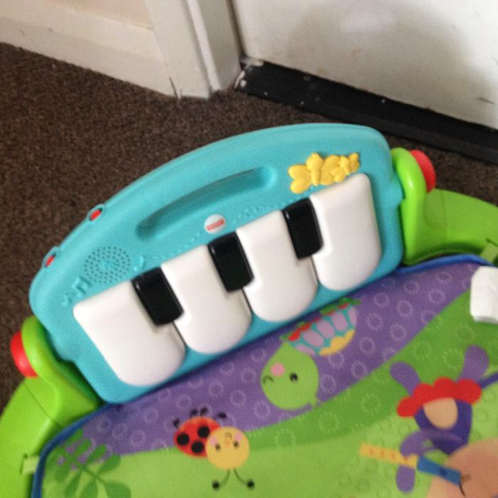 Used Fisher Price Car Bed