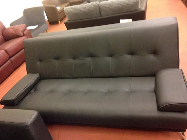 the sicily clic clac sofa bed black bilston dudley. Black Bedroom Furniture Sets. Home Design Ideas