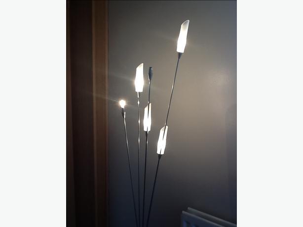 Hyatt 6 light floor lamp oldbury wolverhampton for Hyatt 6 light floor lamp brass