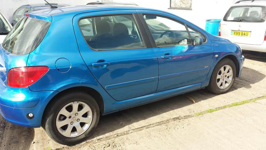 2002 peugeot 307 rapier hdi blue spares repair mot dudley wolverhampton. Black Bedroom Furniture Sets. Home Design Ideas