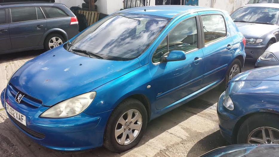 2002 Peugeot 307 Rapier Hdi Blue Spares Repair Mot Dudley