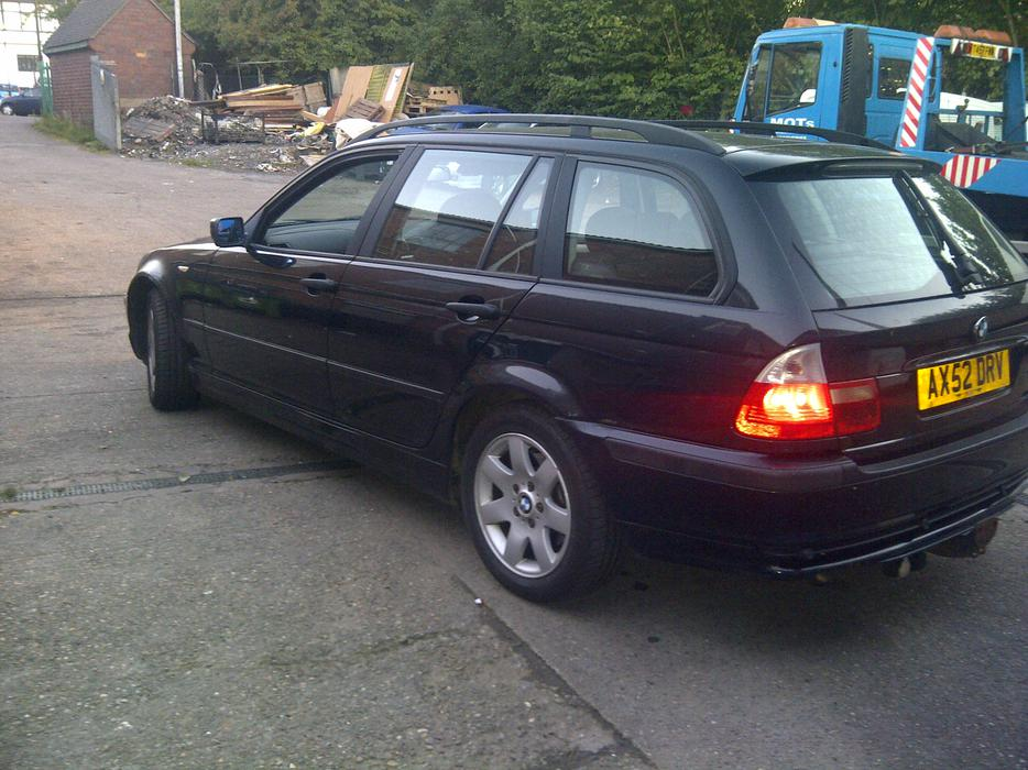 2003 bmw 320d touring walsall sandwell. Black Bedroom Furniture Sets. Home Design Ideas