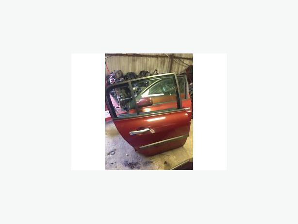 RENAULT MEGANE II DOOR TEB76 5 DOOR DRIVER SIDE BACK DOOR FLAME RED