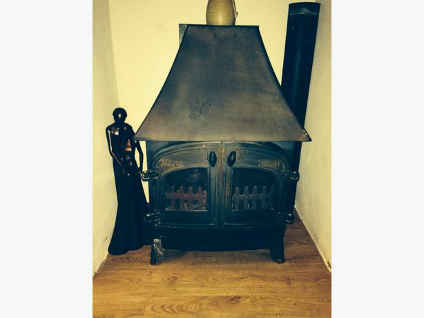 Villager Gas Fire Wood Burner Effect Dudley Sandwell