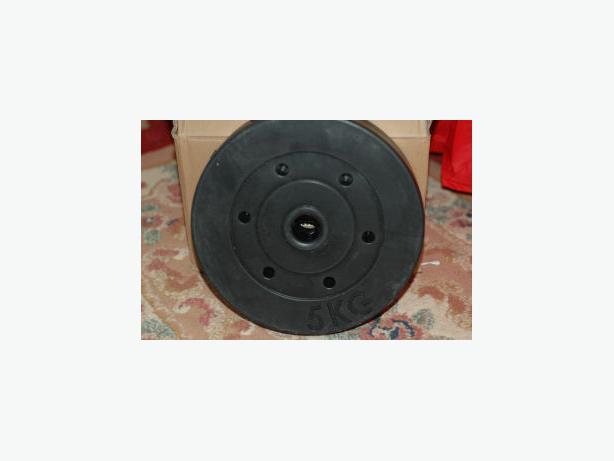 3x 5KG weights