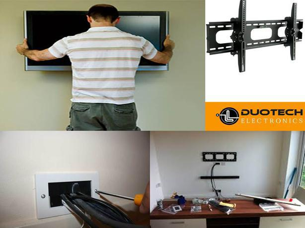 Interactive TV Wall Mounting and Brackets