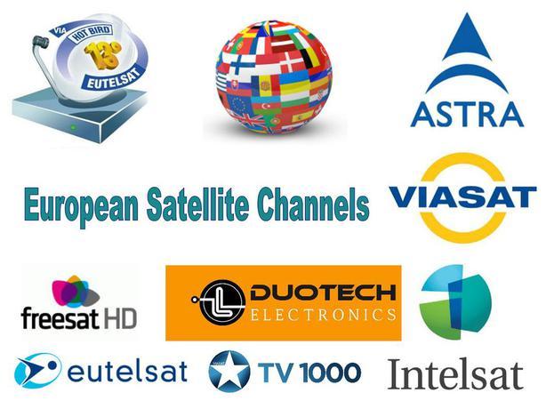 European Satellite TV Dish Systems