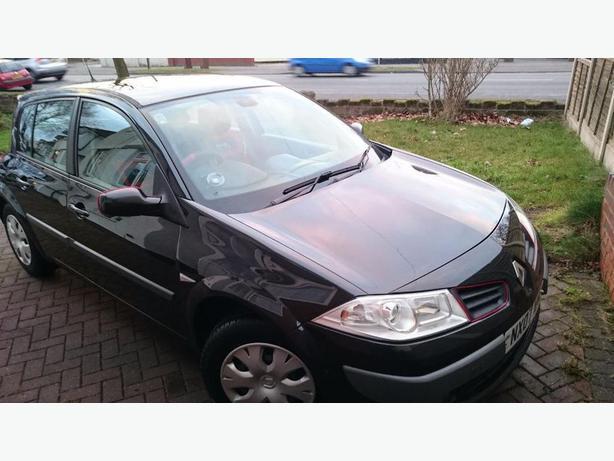 2007 Renault Megane Expression Black Wolverhampton Dudley