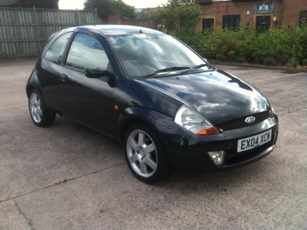 black ford ka sport with factory fitted body kit mot good. Black Bedroom Furniture Sets. Home Design Ideas