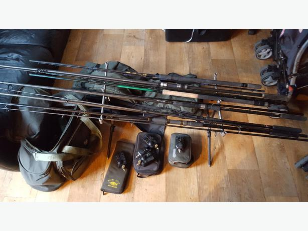 Fishing tackle for sale carp and match brierley hill dudley for Fishing equipment for sale