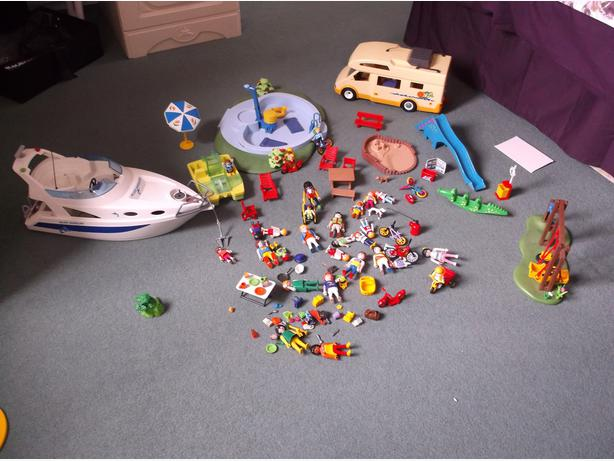 Large selection of playmobil