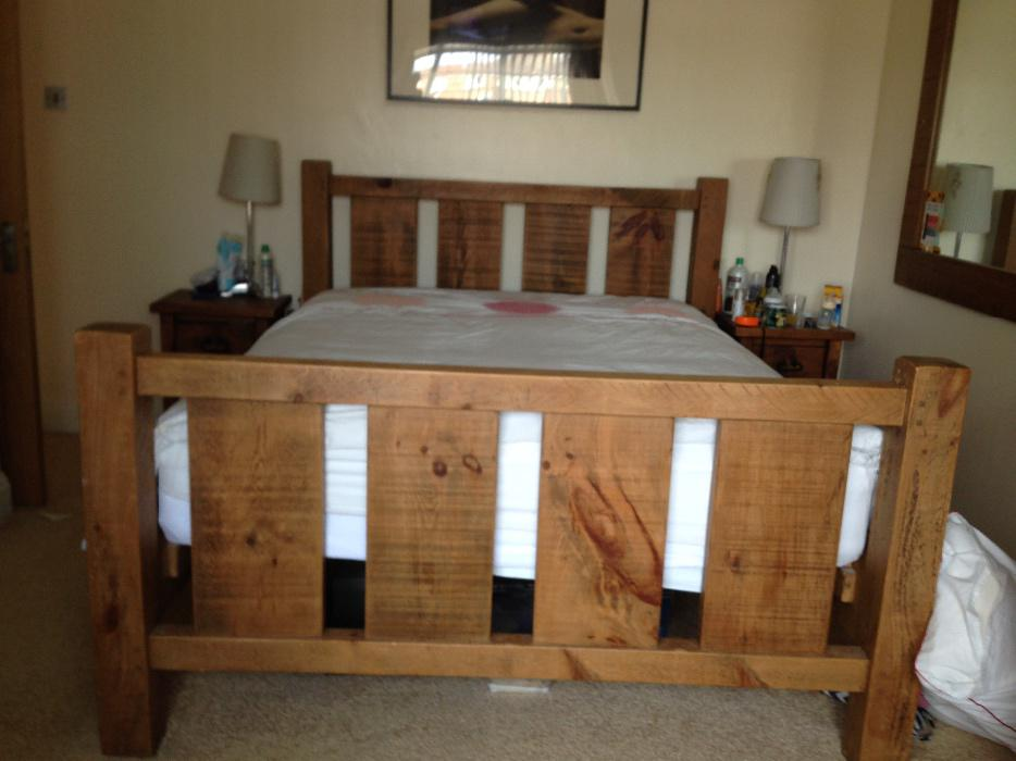 Solid Wood Rustic Bedroom Furniture WALSALL Dudley