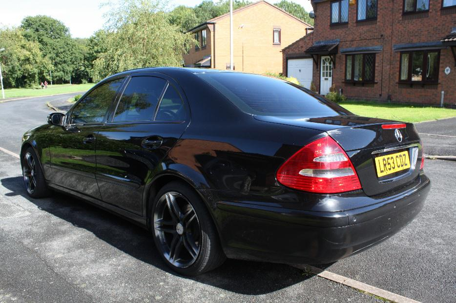 Absolutely Free Car History Report >> 2003 MERCEDES E220 CDI CLASSIC BLACK SANDWELL, Wolverhampton