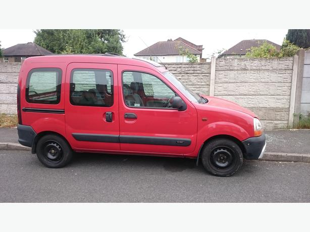 mpv renault kangoo with new 1 9 engine look look wolverhampton dudley. Black Bedroom Furniture Sets. Home Design Ideas