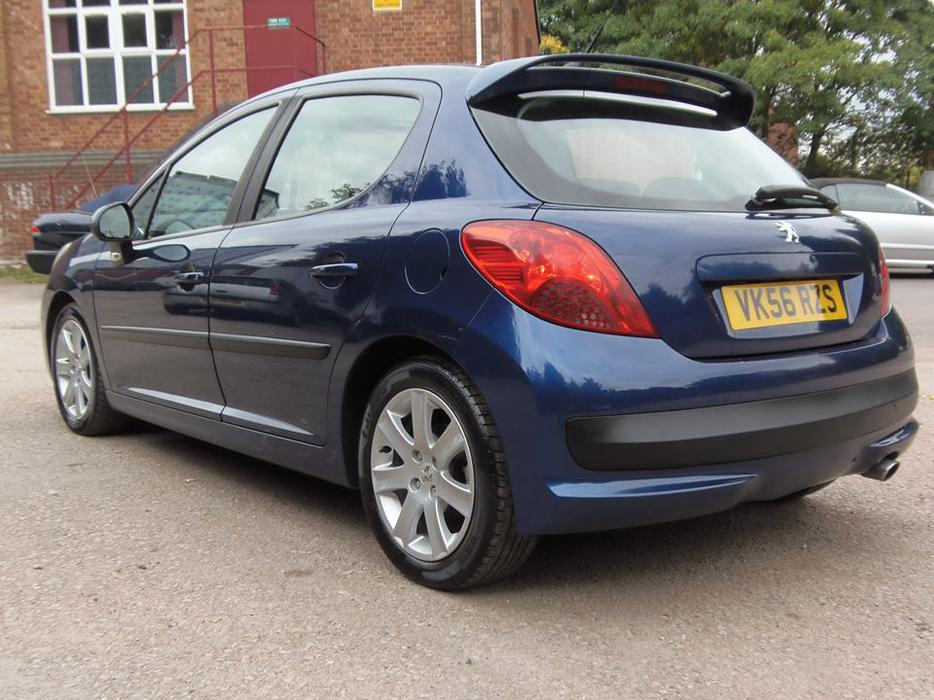 PEUGEOT 207 1.6 HDi (90) DIESEL SPORT EDITION 2006 ( £30 A ...