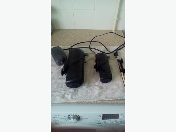 2 fish tank filters heater and twin air pump coseley dudley for Fish tank with filter and heater