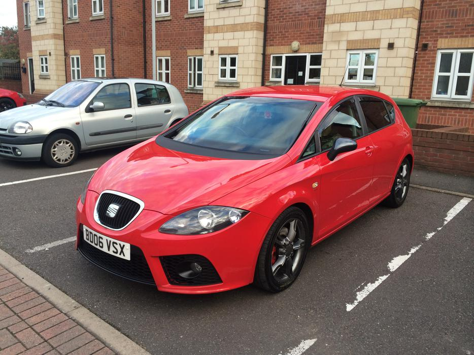 2006 seat leon fr tdi 170 remapped to 200bhp fsh drives a1 may p x wolverhampton sandwell. Black Bedroom Furniture Sets. Home Design Ideas