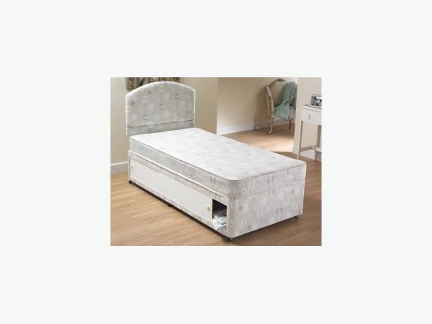 SLIDER BASE AND MATTRES DIVAN BED