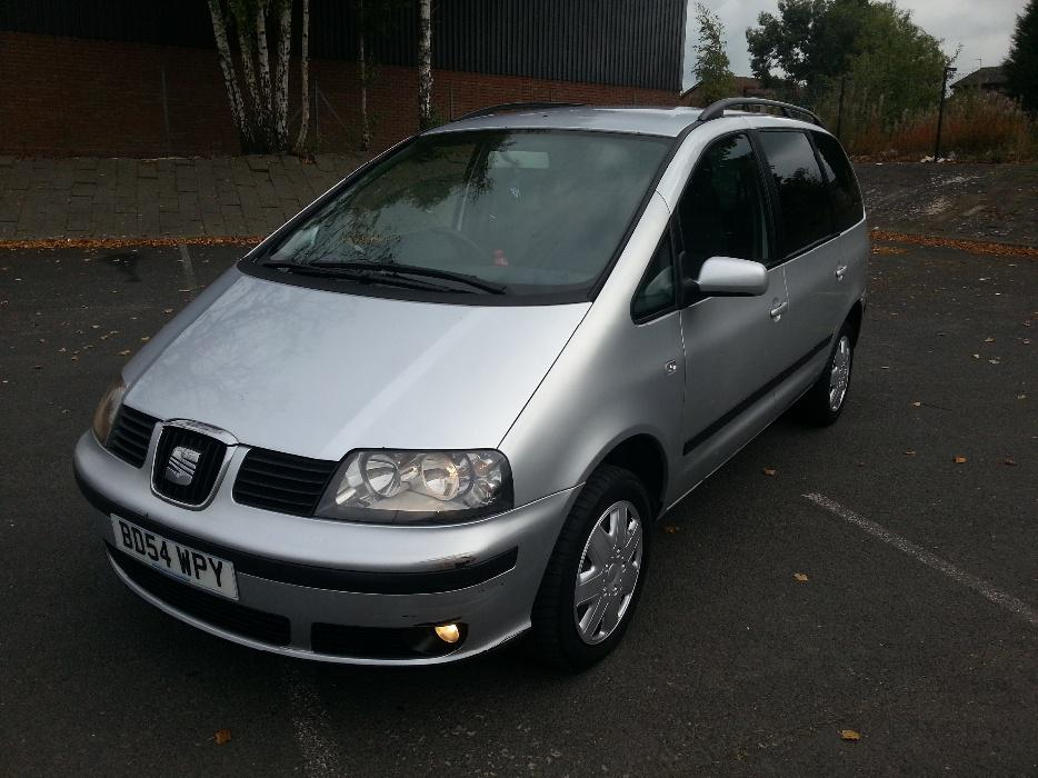 2005 54 Seat Alhambra 1 9 Tdi Sx 130 6 Speed 7 Seater