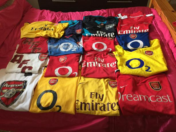 arsenal football collection