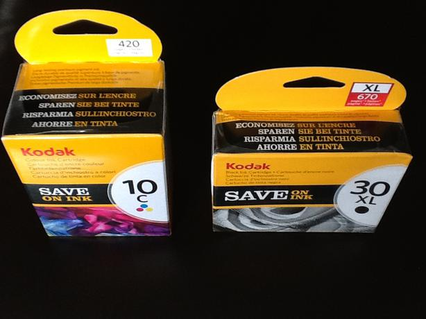 Genuine Kodak ink 10 & 30 brand new