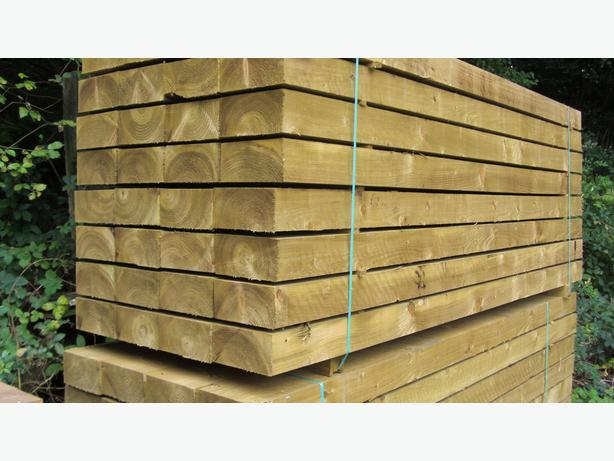 30 new railway sleepers 8ft