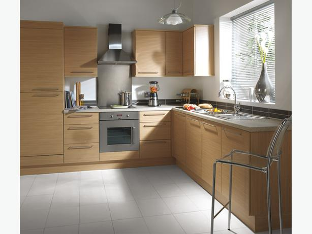 7 Piece Kitchen Units - Natural Oak - BRAND NEW