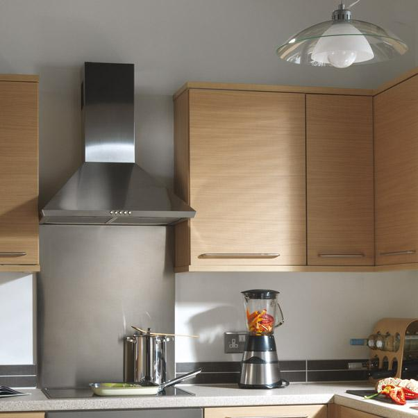 7 piece kitchen units natural oak brand new outside for 300mm deep kitchen units