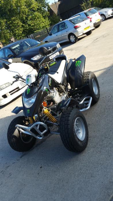 Apache 250cc Quad Gears 1 Down 4 Up Very Simple Runs Sweet