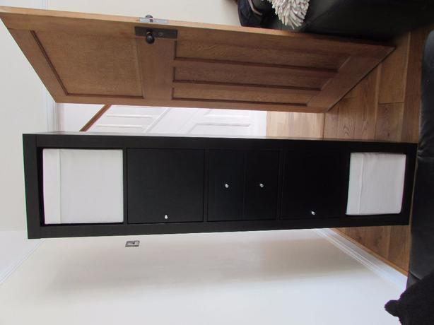 Ikea kallax shelving unit drawers cupboards and storage for Ikea box shelf unit