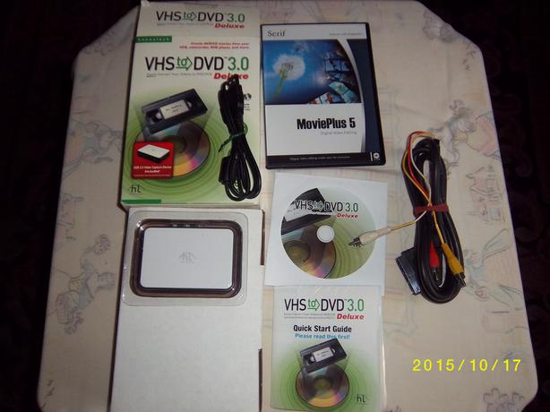 Convert Your VHS Tape recordings to DVD/VCD