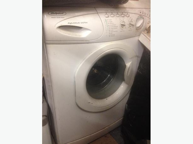 hotpoint aquarius washing machine manual