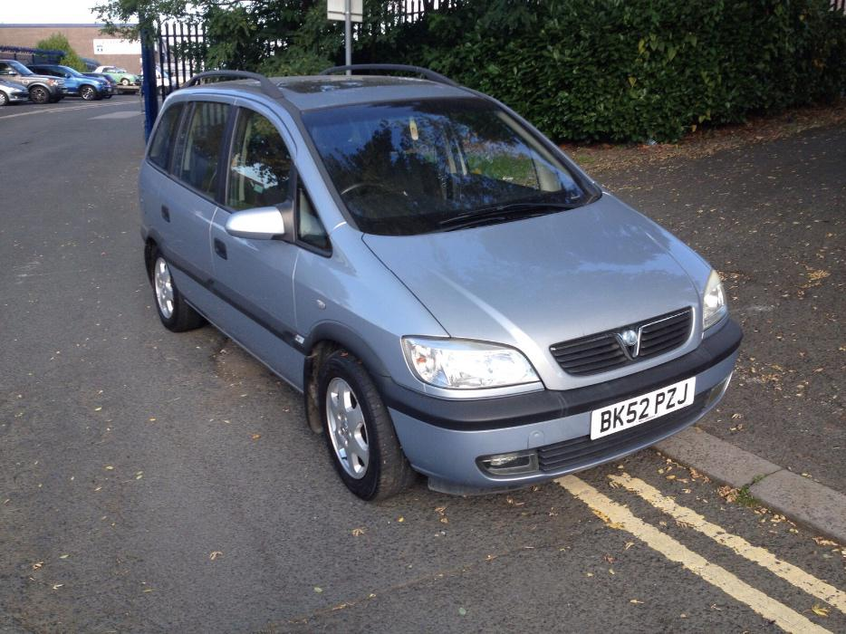 2002 Vauxhall Zafira 2 0 Dti 7 Seater Dudley Dudley