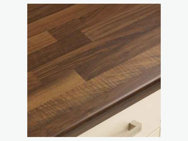 Kitchen Unit Worktop - Walnut Butchers Block Satin 30mm - BRAND NEW