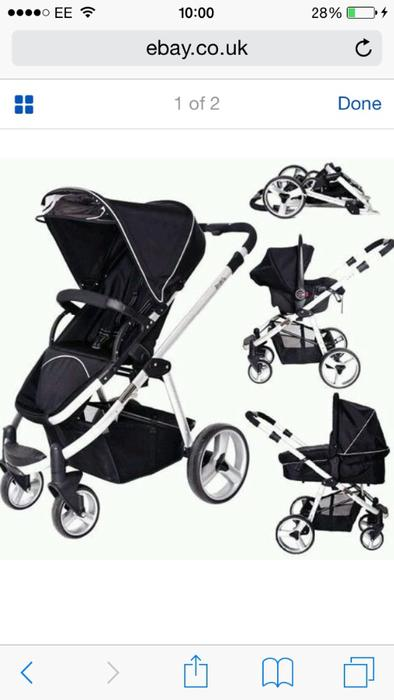 Red Kite Zebu Travel System