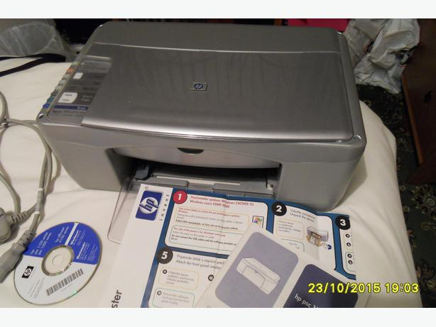 Hp psc 1215 all in one printer