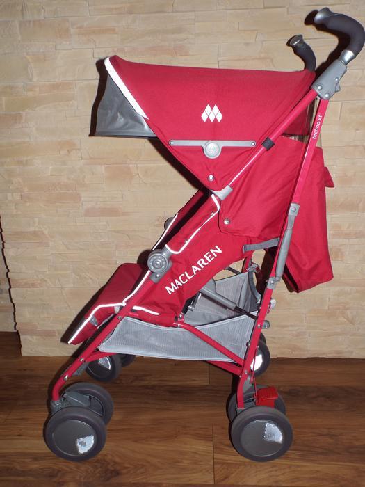 Maclaren Techno Xt Red Umbrella Single Seat Stroller